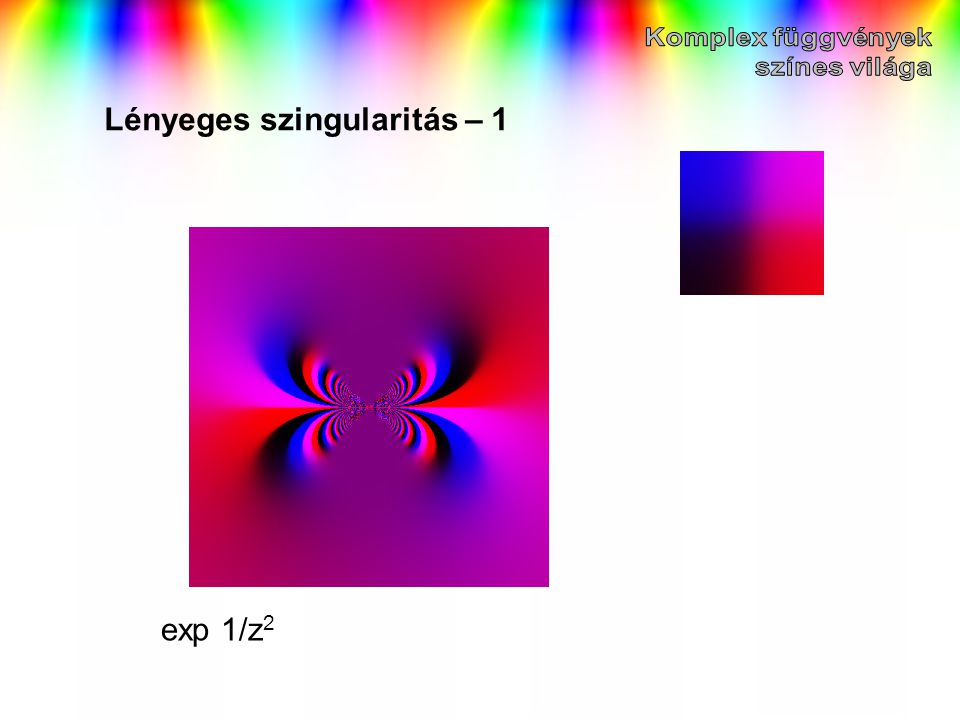 Lényeges szingularitás – 1 exp 1/z 2