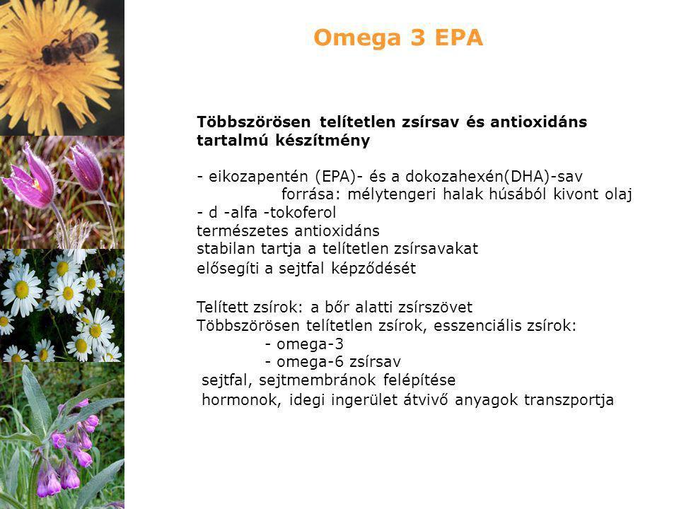 Többszörösen telítetlen zsírsav és antioxidáns tartalmú készítmény - eikozapentén (EPA)- és a dokozahexén(DHA)-sav forrása: mélytengeri halak húsából