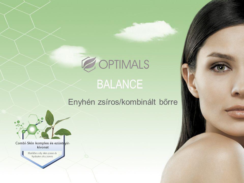 Enyhén zsíros/kombinált bőrre BALANCE Combi-Skin komplex és ezüstnyír- kivonat