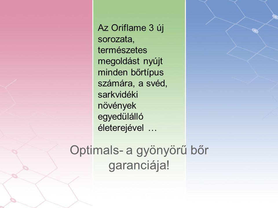 Az Oriflame 3 új sorozata, természetes megoldást nyújt minden bőrtípus számára, a svéd, sarkvidéki növények egyedülálló életerejével … Optimals- a gyönyörű bőr garanciája!
