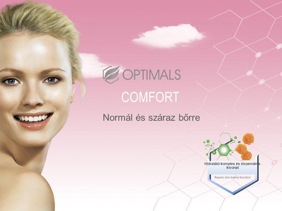 Normál és száraz bőrre COMFORT Hidratáló komplex és törpemálna- kivonat