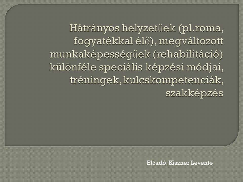 El ő adó: Kiszner Levente