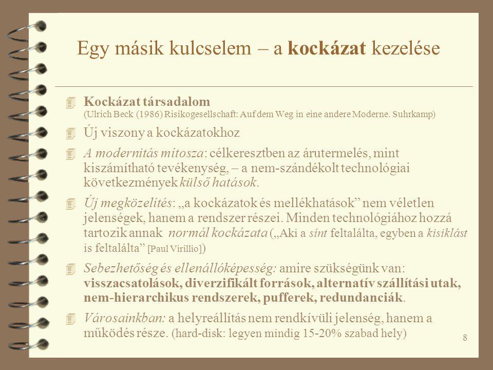 59 A Budapesti Regionális Gyorsvasúti Rendszer koncepciója FŐMTERV-KÖZLEKEDÉS Konzorcium 2007.