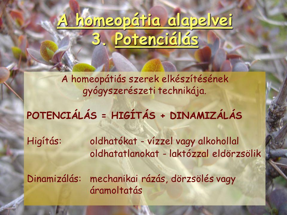 A homeopátia alapelvei 2. Prooving Hahnemann híres önkisérlete. Simile-elv vizsgálati módszere. Homeopátia alapelve és egyben hatásosságának bizonyíté