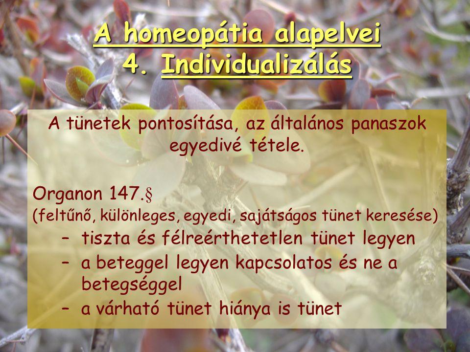 A homeopátia alapelvei 3. Potenciálás A homeopátiás szerek elkészítésének gyógyszerészeti technikája. POTENCIÁLÁS = HIGÍTÁS + DINAMIZÁLÁS Higítás:oldh