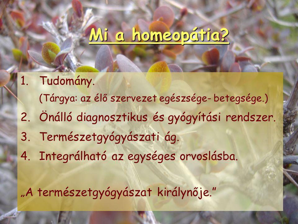 """HOMEOPÁTIA, """"a természetgyógyászat királynője"""" Dr. Cs. Szabó Zsuzsanna orvos - természetgyógyász"""