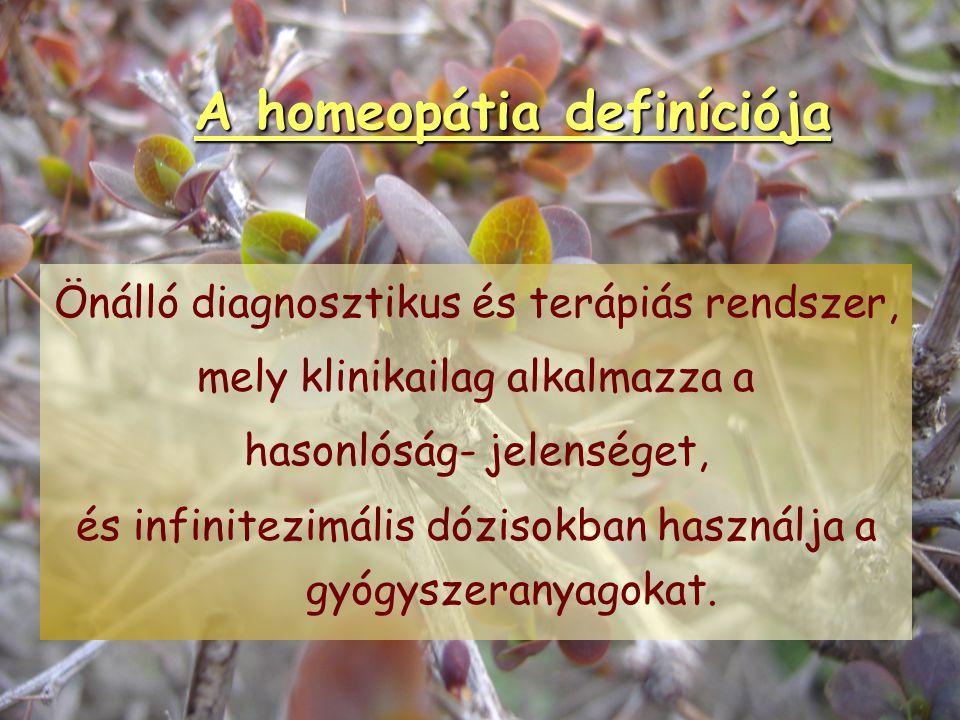 Mi NEM a homeopátia? 1.Nem keleti gyógymód. 2. Nem placebo-terápia. 3. Nem pusztán gyógynövényekkel való gyógyítás. 4. Nem a betegségek betegségekkel