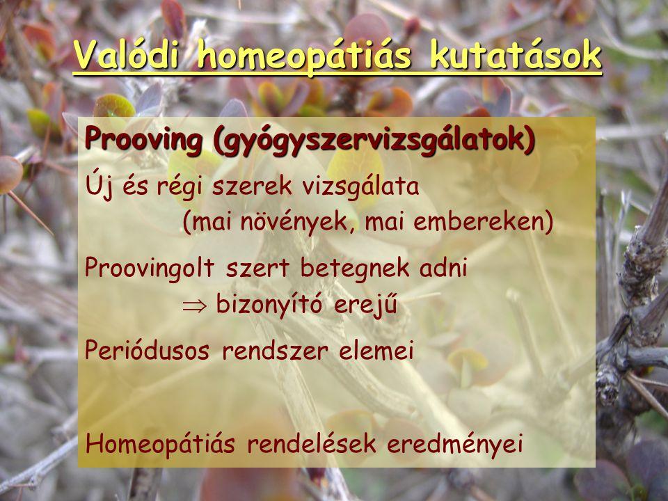 Hatásmechanizmus   Molekula és sejt szintjén nem ismerjük.   Egyén szintjén hat.   A hipotézisek nem a homeopátia hatását magyarázzák, hanem más