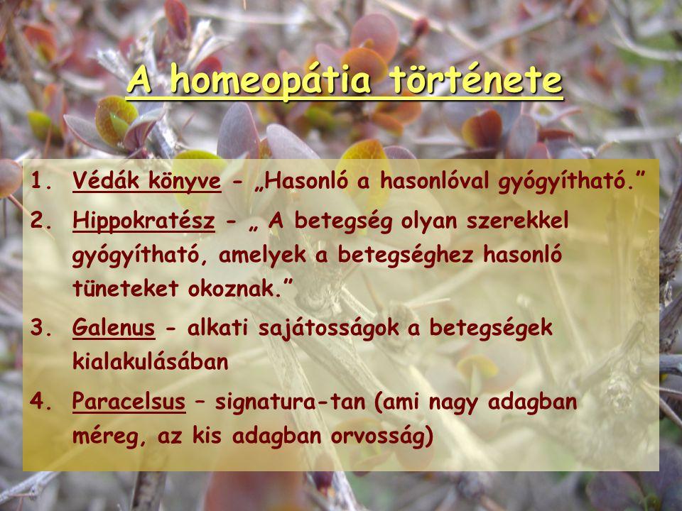 Homeopátia és allopátia összehasonlítása HomeopátiaAllopátia természetesAlapanyagokszintetikus, vegyi egészségesen, subtox.Gyógyszerkifejlesztésbetege