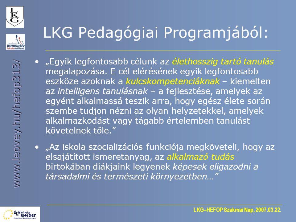 LKG–HEFOP Szakmai Nap, 2007.03.22.