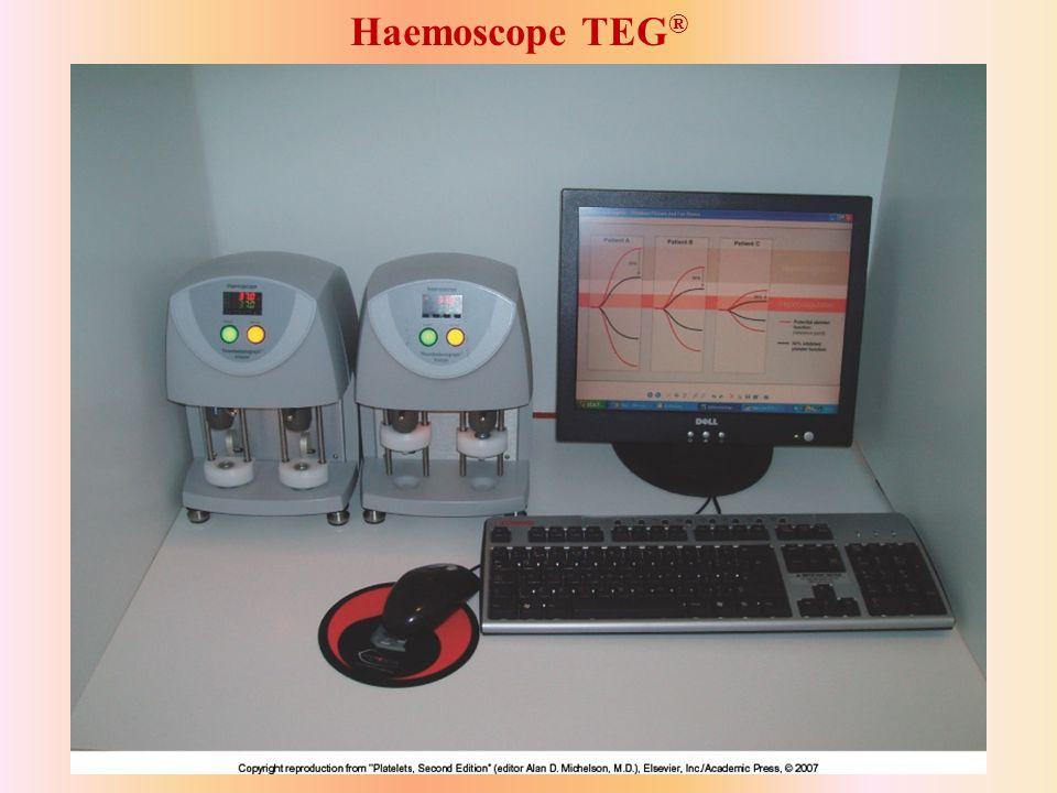 Haemoscope TEG ®