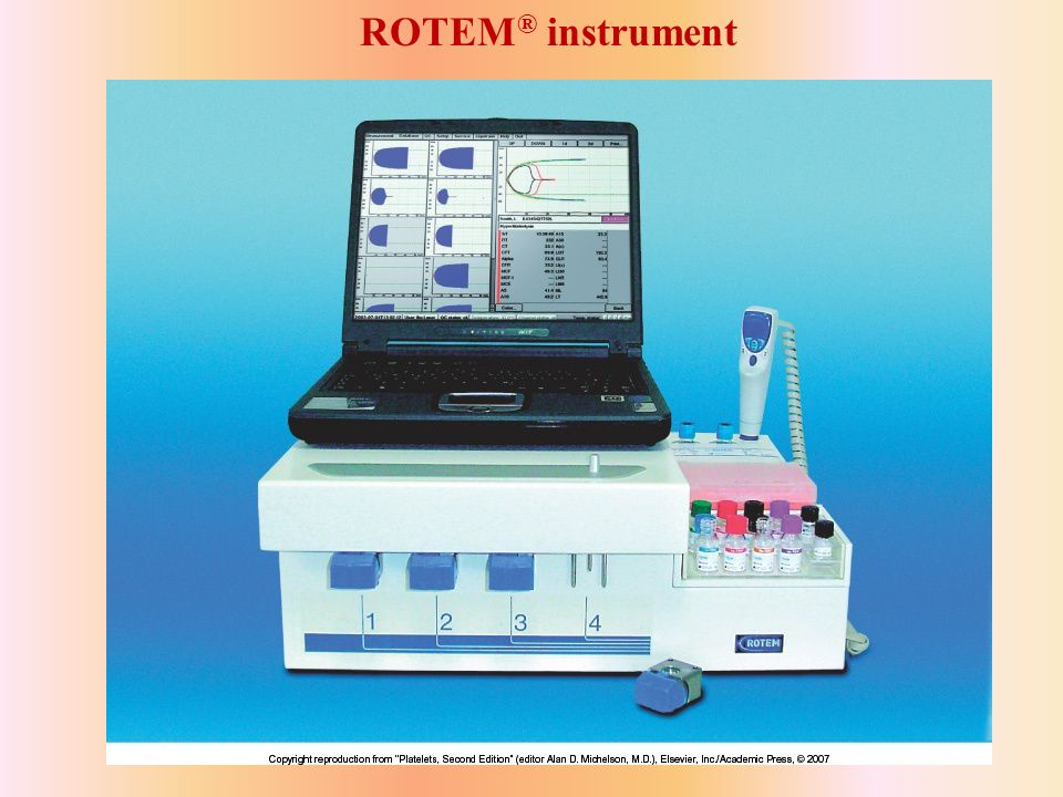 ROTEM ® instrument