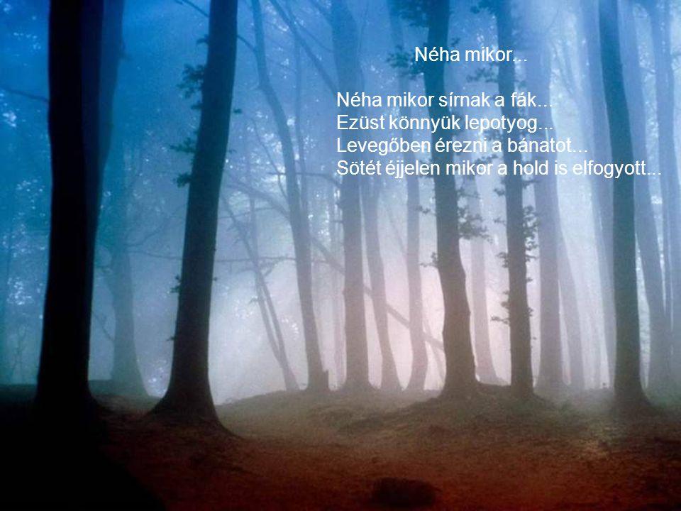 Űzenem... Az erdőnek üzenem :ne féljen, Ha csattog is a baltások hada, Mert erősebb a baltánál a fa, S a vérző csonkból virradó tavaszra, Újra erdő sa