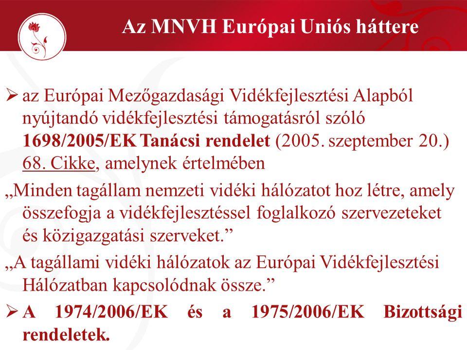  Az Új Magyarország Vidékfejlesztési Stratégia és Program (ÚMVP);  2007.