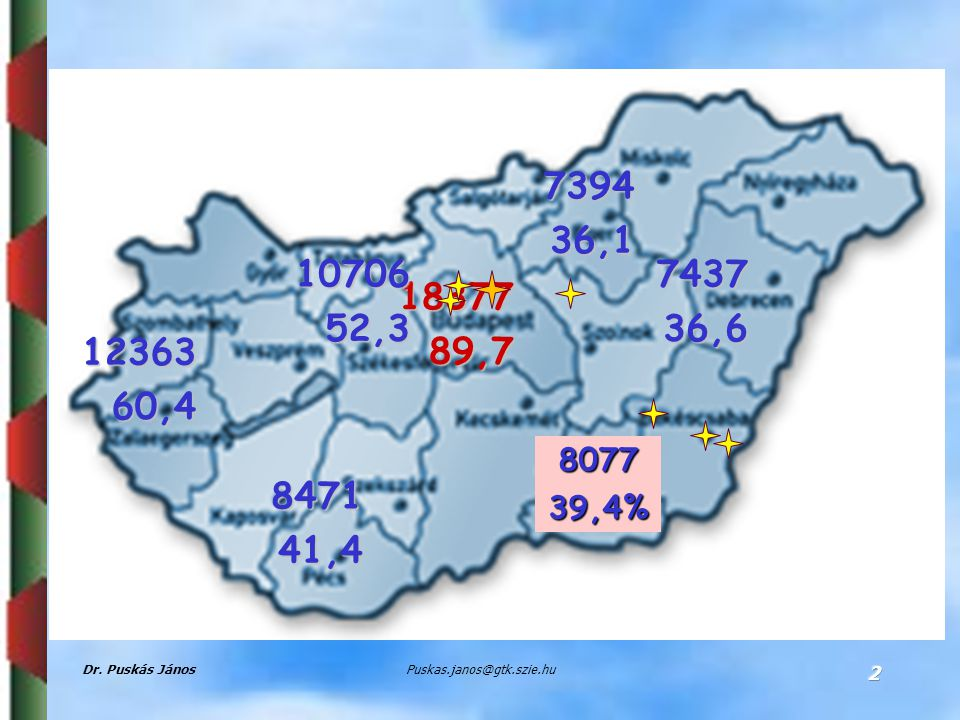 Parameters of call for tenders for clusters in the four development phases * Supported clusters in the tenders of the Regional Operative Programsand the accredited clusters Source:PPO, EPAP 13 5 SZIU 12 SZIU
