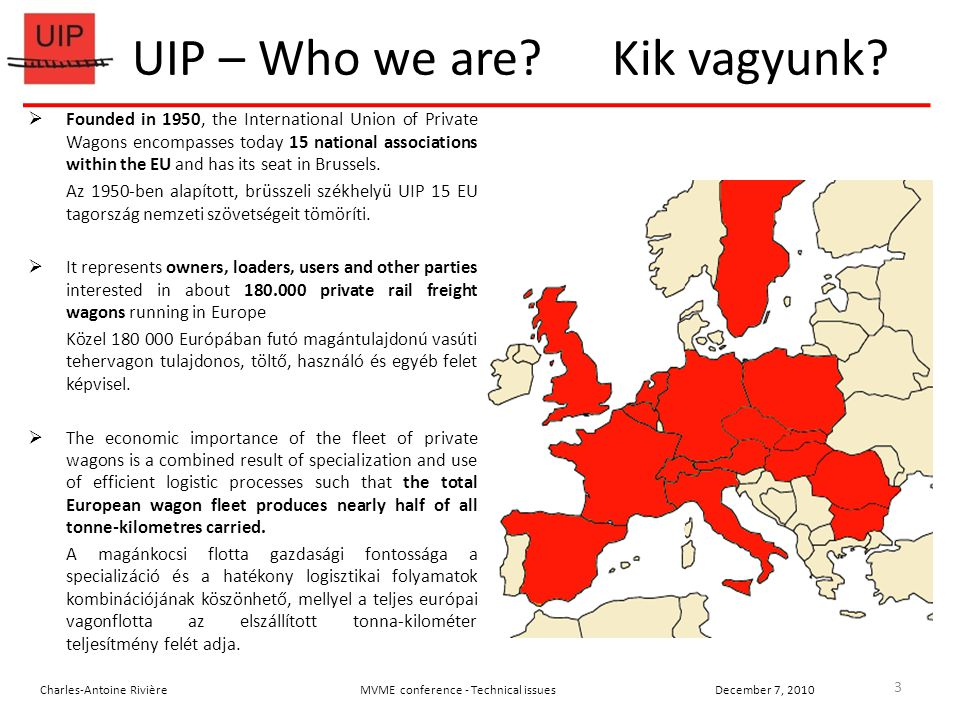 UIP – Who we are. Kik vagyunk.