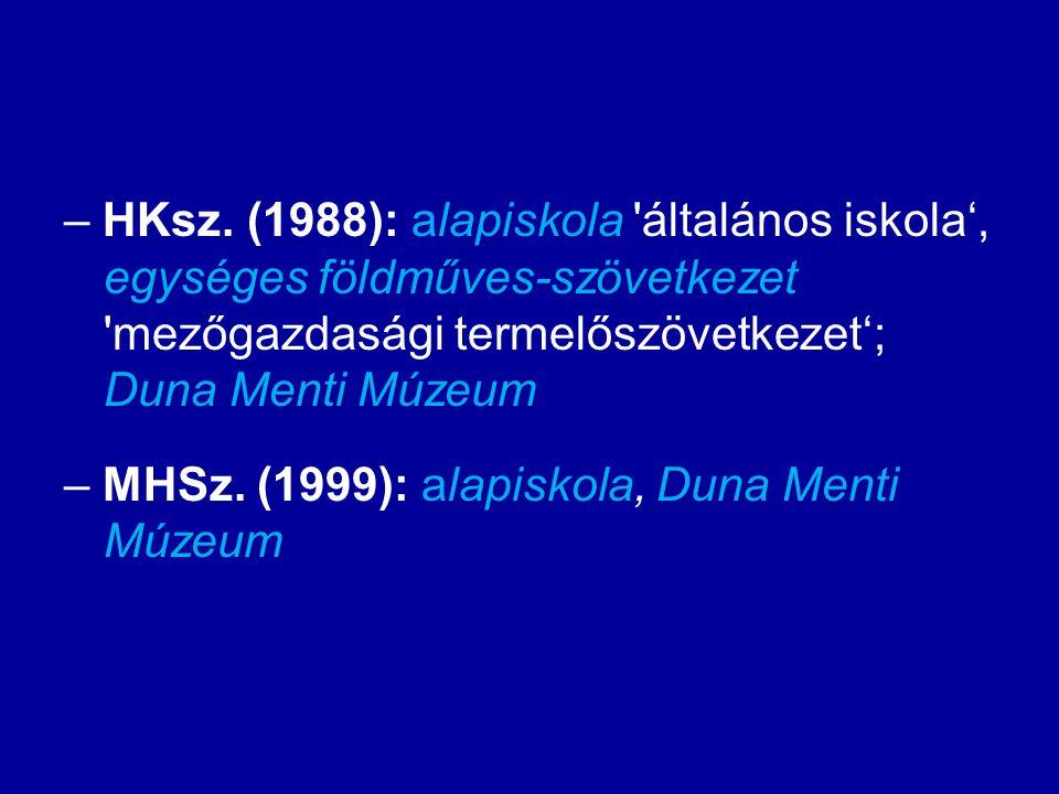 Helyesírási kéziszótár és Magyar helyesírási szótár – (tudtunkkal) egyedüli magyarországi kiadvány, amely nem megbélyegzési szándékkal közölt határon túli szókészleti elemeket