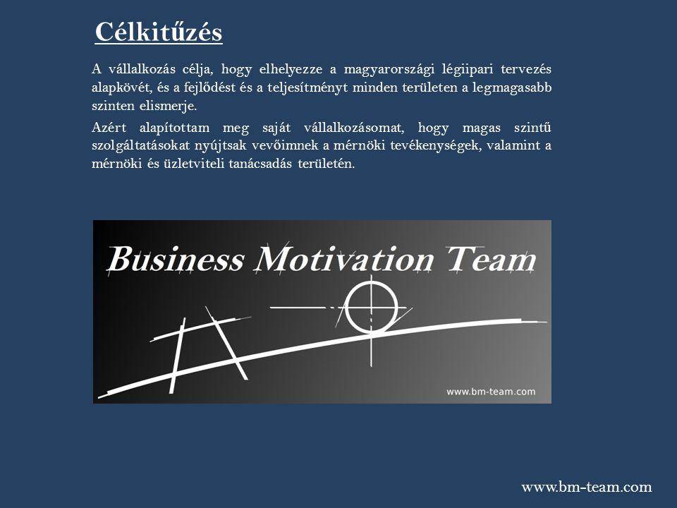 www.bm-team.com Szolgáltatások A Business Motivation Team Kft.
