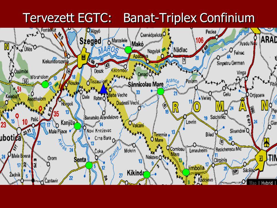 Tervezett EGTC: Banat-Triplex Confinium