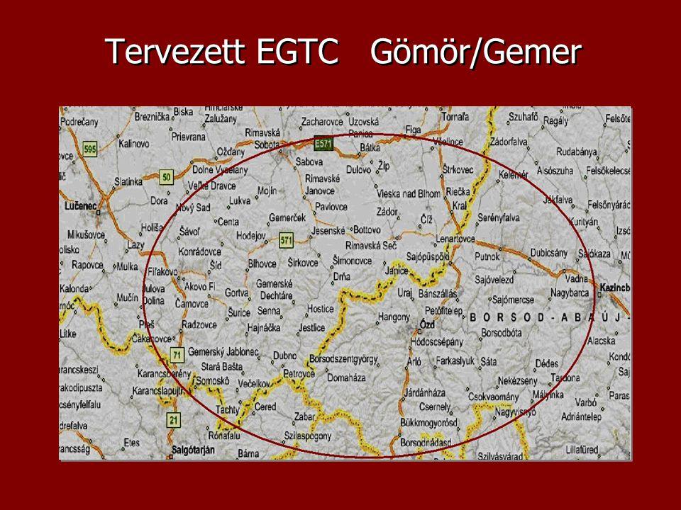 Tervezett EGTC Gömör/Gemer
