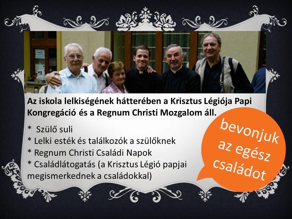 Az iskola lelkiségének hátterében a Krisztus Légiója Papi Kongregáció és a Regnum Christi Mozgalom áll.