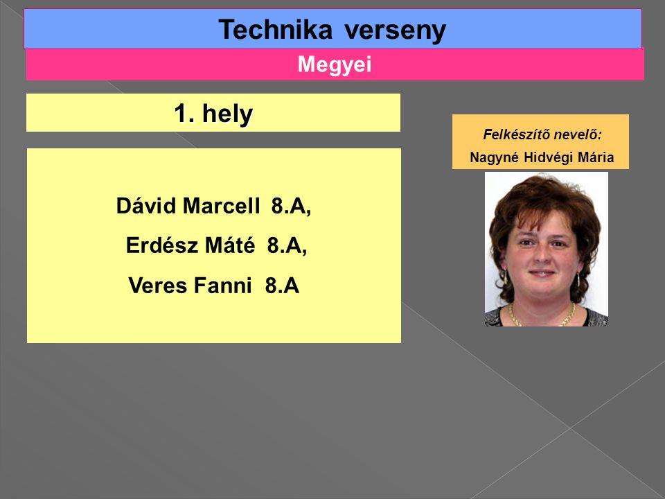 Megyei Technika verseny 1.