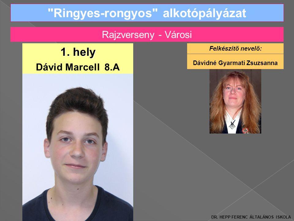 Ringyes-rongyos alkotópályázat Dávid Marcell 8.A 1.
