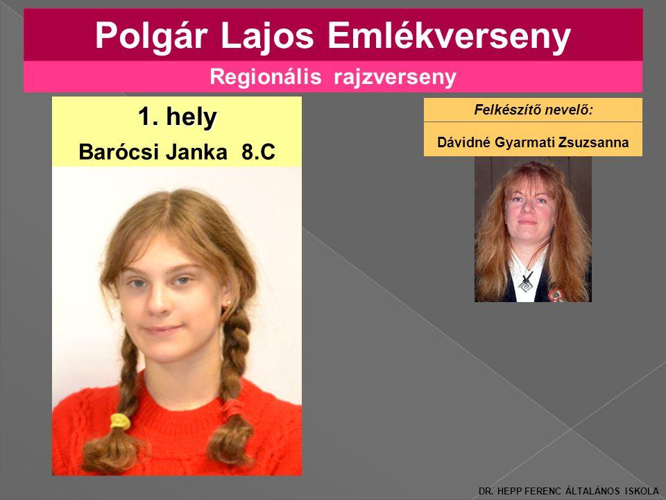 Regionális rajzverseny Polgár Lajos Emlékverseny 1.