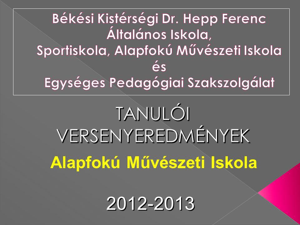 2012-2013 Alapfokú Művészeti Iskola