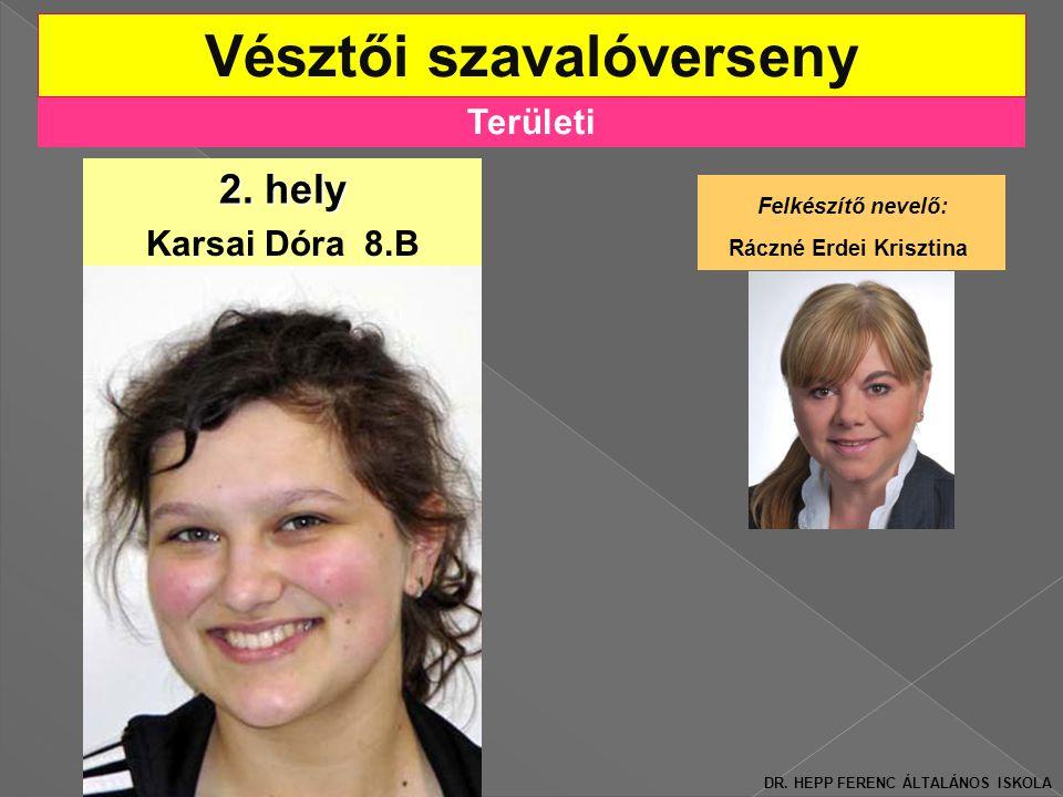 Területi Vésztői szavalóverseny 2.