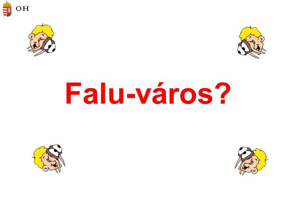 Falu-város?
