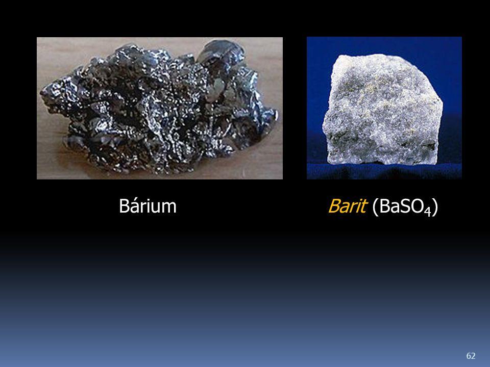 62 BáriumBarit (BaSO 4 )