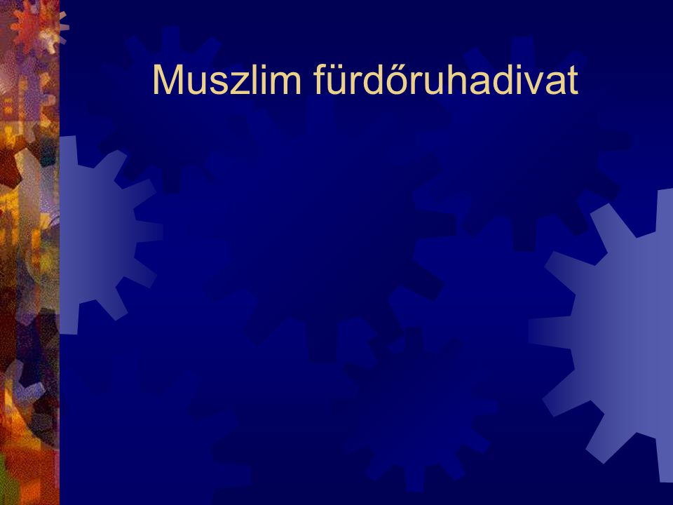 Muszlim fürdőruhadivat