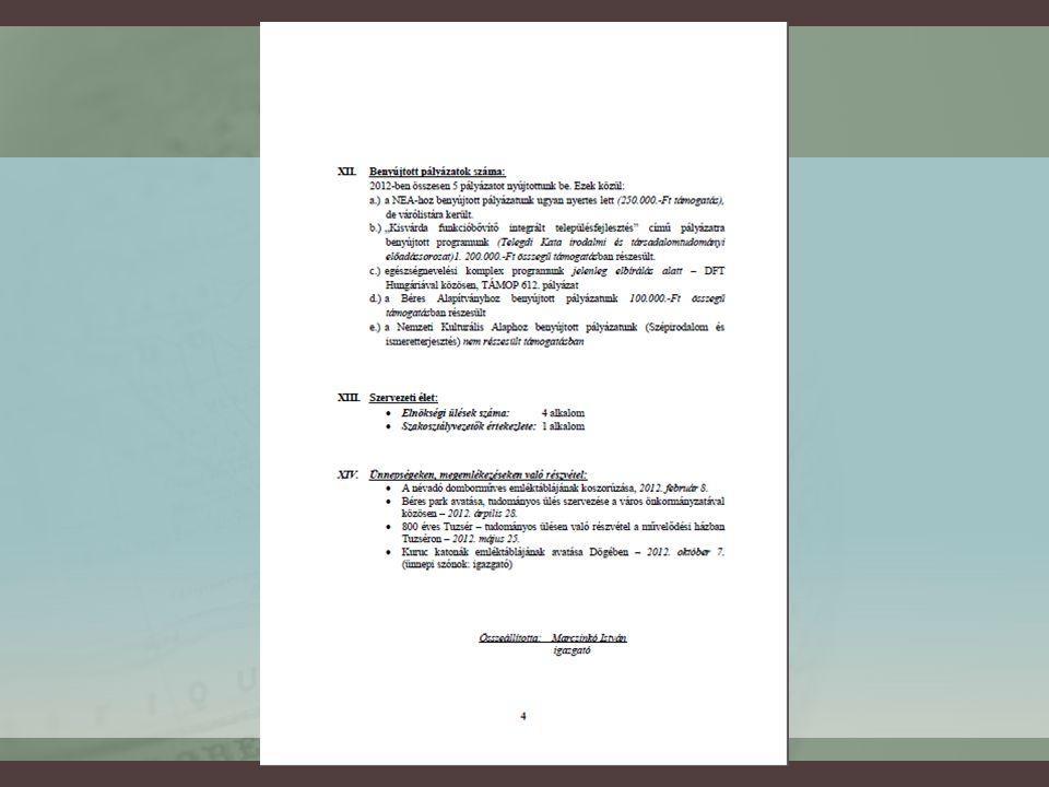 Az egyesület megalakulásának előzményei  1990-ben megyénként önálló TIT egyesületek jönnek létre  A megyei egyesület neve: TIT Jurányi Lajos Egyesülete (Nyíregyháza)  Kisvárdán városi-térségi tagszervezet működik  2008-ban létrejön az önálló egyesület – 45 taggal  2009-ben a Megyei Bíróság kiemelten közhasznú egyesületként bejegyzi  Névfelvétel: dr.