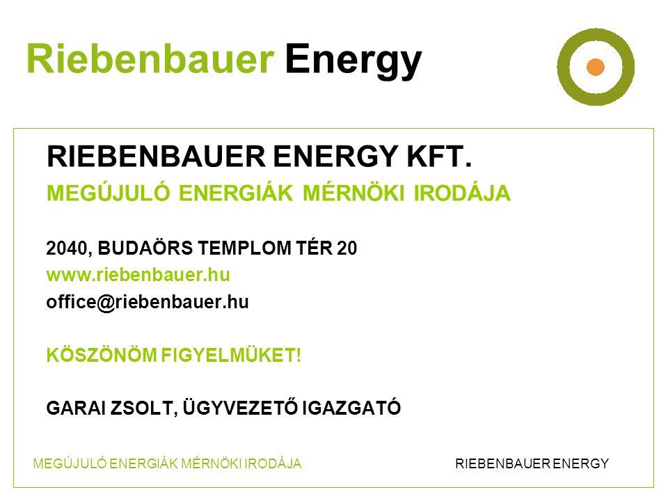 RIEBENBAUER ENERGY KFT.