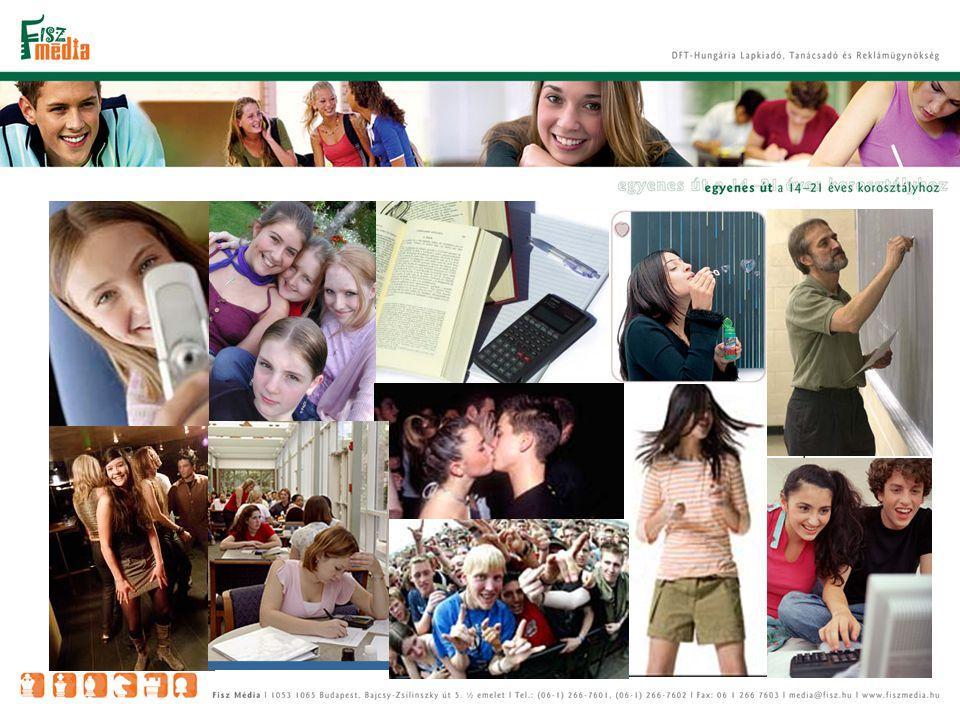Lapok olvasottsága a középiskolás korosztályban