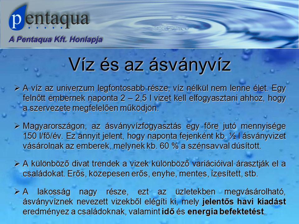 Víz és az ásványvíz  A víz az univerzum legfontosabb része, víz nélkül nem lenne élet.