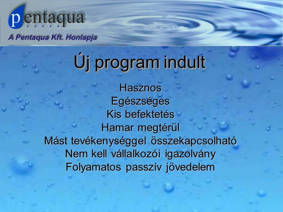 Az első ötlet  A CO 2 -vel dúsított víz Hungaricum.