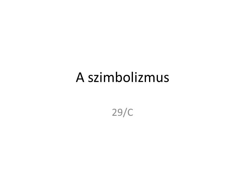 A szimbolizmus 29/C