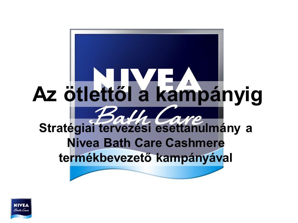 Az ötlettől a kampányig Stratégiai tervezési esettanulmány a Nivea Bath Care Cashmere termékbevezető kampányával