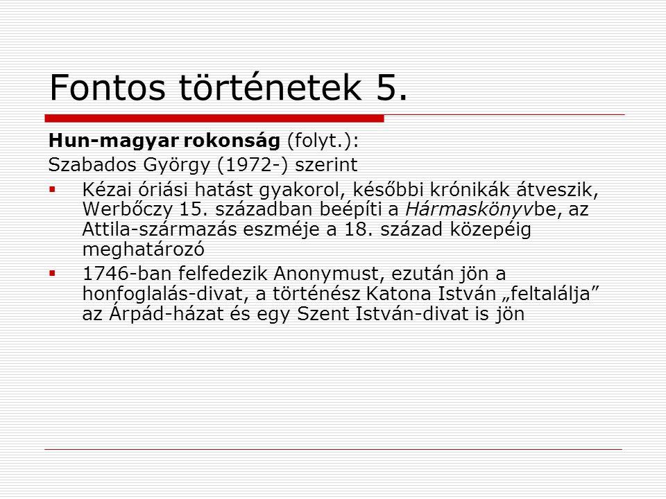 Fontos történetek 5.