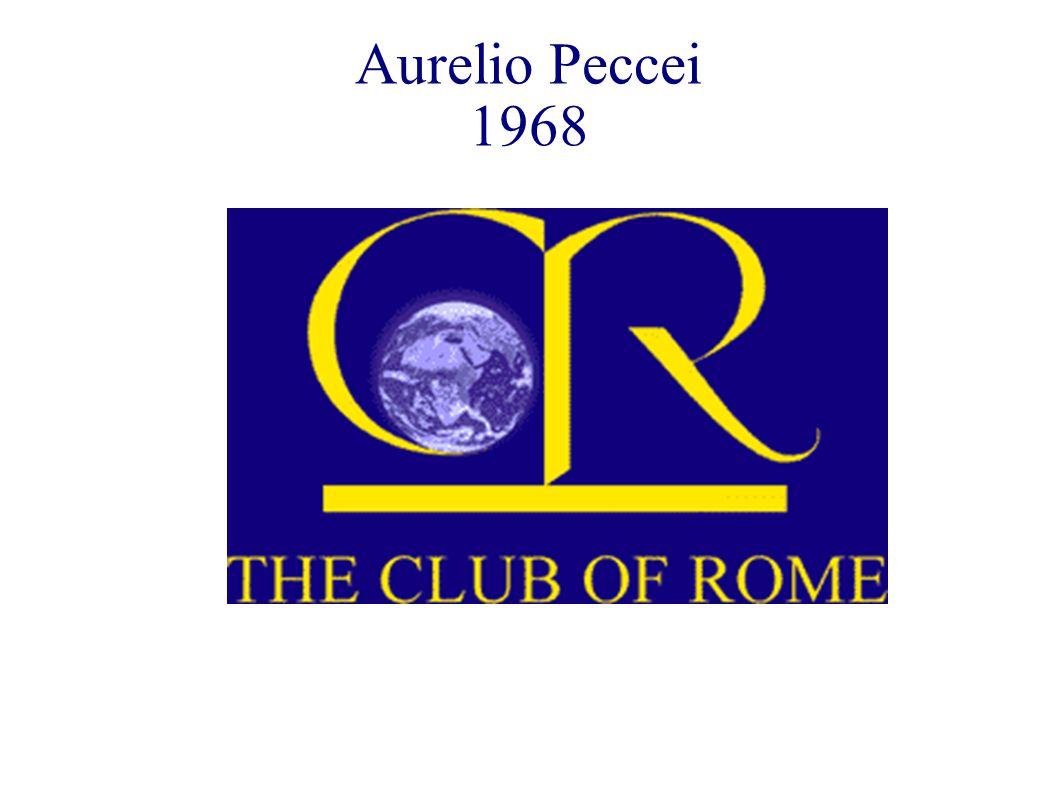 Aurelio Peccei 1968