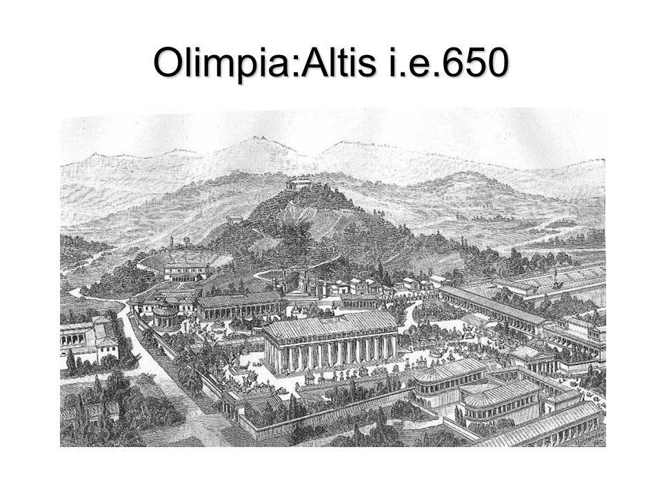 Olimpia:Altis i.e.650
