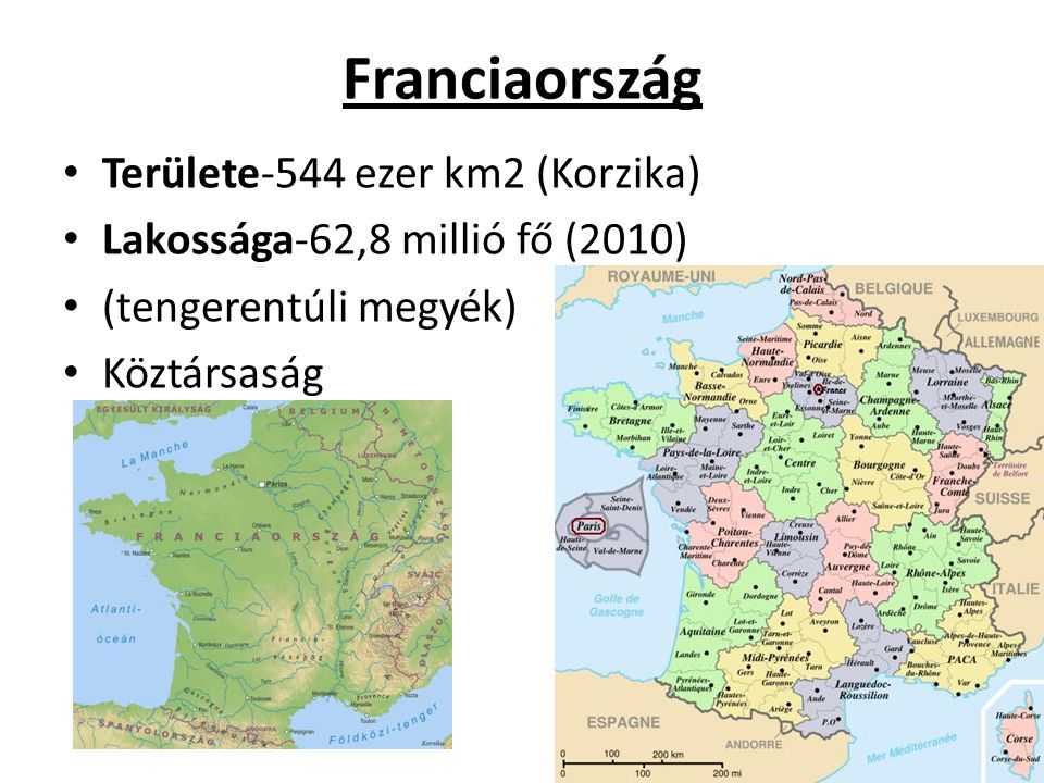 Nagy-Britannia és Észak-Irország Egyesült királysága • Területe: 244,8 ezer km2 • Lakossága: 61 millió fő • Alkotmányos monarchia II.