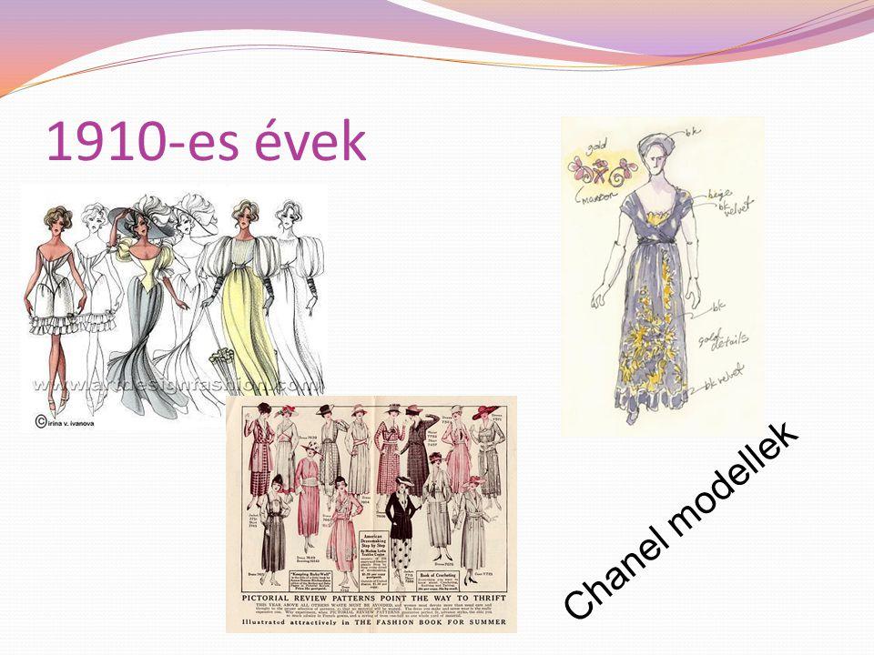 1910-es évek A divat világában Gabrielle