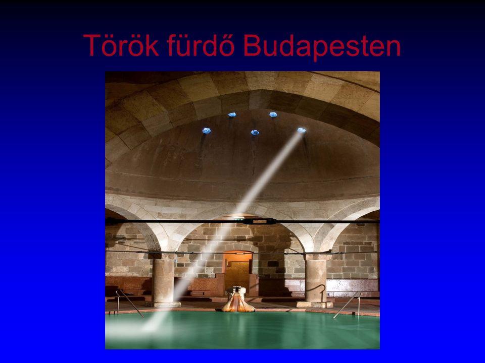 Török fürdő Budapesten