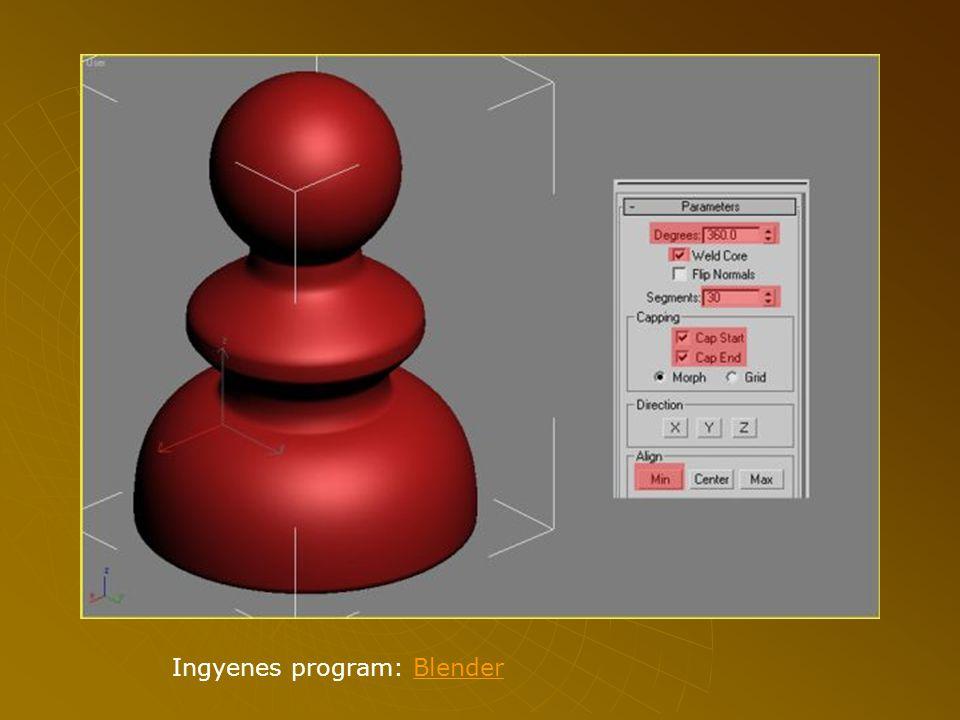 Ingyenes program: BlenderBlender