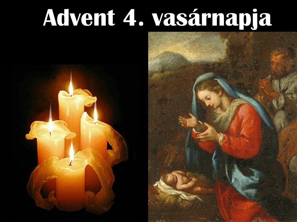 Advent 4. vasárnapja