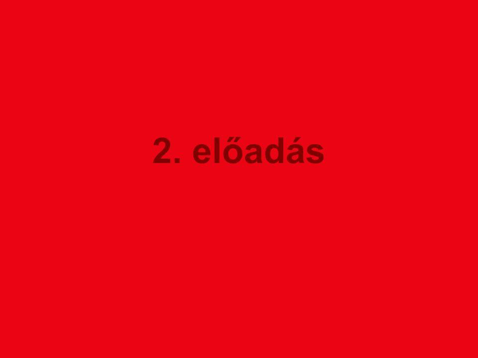 2. előadás