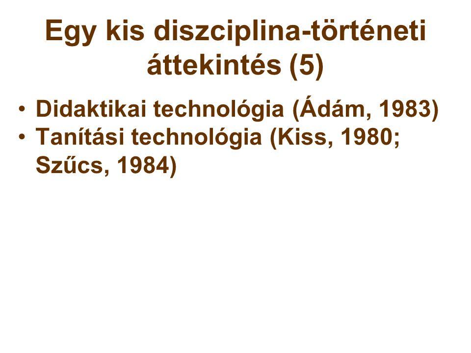 """Akkor és most (1) 1980-as évek: •A jövedelemviszonyokhoz képest drága technika  a technika """"fetisizálása •""""Mérnöki szemlélet •Technika-központú gondolkodás •A tanárképzésben elkülönült oktatástechnikai, oktatástechnológiai és szakmódszertani stúdiumok  Az eszközalkalmazás, az oktatás- és pedagógiai technológiai eljárások a hatékonyságra való törekvés jegyében valósultak meg."""